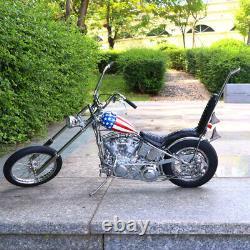 1/4 Easy Rider Harley Davidson Construit Moto Modèle Diecast Captain America