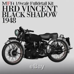 1/9 KIT HRD VINCENT Black shadow 1948 model factory hiro MFH K567