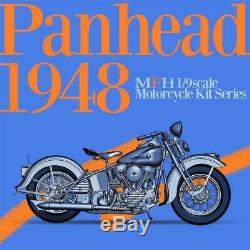 1/9 KIT Harley Davidson PANHEAD 1948 model factory hiro MFH K712