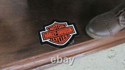 1917 Harley Davidson V Double Personnalisé Board Piste Course Moto & 16 Support