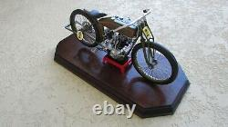 1926 Harley Davidson 8 Valve Board Track Racer Moto de Luxe 16 Qualité Boîte