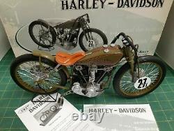 1927 Harley Davidson 8 Valve Board Track Racer Moto 16 Xonex Boîte Et COA