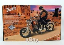 1999 Harley Davidson Barbie Fat Boy Moto #1 NRFB 26132 Hog Vélo 16 Échelle