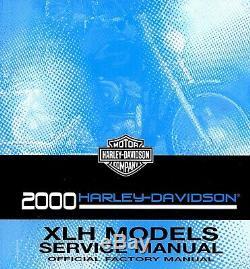 2000 Harley-Davidson XLH XL Sportster Moto Service Manuel -xlh 883-XL 1200