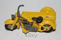 594ms Tekno Harley Davidson Moto avec Sidecar, Agréable Original