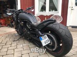 Airbox Réservoir & Cadre Housses pour Harley Davidson Vrod Nuit Tige Moto
