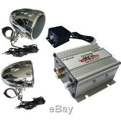 Amplificateur Moto Harley Davidson Piaggio Vespa PLMCA20 Pluie