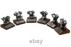 Authentique Réplique Harley-Davidson Moto Moteur Moteur Modèle Collection Set