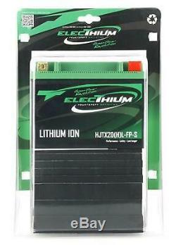 Batterie Electhium pour Moto Harley Davidson 1250 Vrscf V-Rod Muscle 2008 à 201