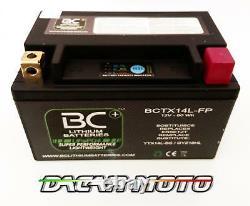 Batterie Moto Lithium Harley Davidson XL 883 N Sportster Iron 2009 BCTX14L-FP