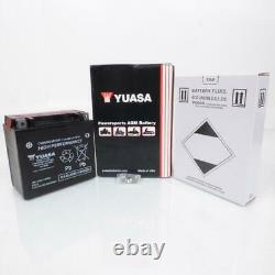 Batterie Yuasa pour Moto Harley Davidson 1130 Vrsc V-Rod 2002 à 2006 Neuf