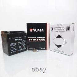 Batterie Yuasa pour Moto Harley Davidson 1584 FLHX Street Glide 2008 à 2015 YIX