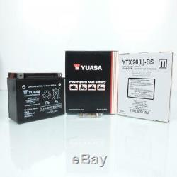 Batterie Yuasa pour Moto Harley Davidson 1584 Flstsb Softail Cross Bones 2008 à