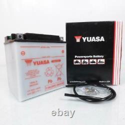 Batterie Yuasa pour Moto Harley Davidson 1800 FLHRSE ROAD KING CVO 2013 à 2014