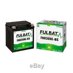 Batterie moto Gel FHD30HL-BS / ETX30L 12V 30Ah