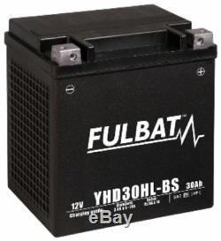 Batterie moto YHD30HL-BS étanche au Gel 12V / 30Ah spécial Harley