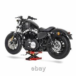 Bequille atelier pour Harley Davidson Dyna Street Bob FXDBI leve rouge