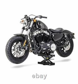 Bequille atelier pour Harley Davidson Sportster 1200 Forty-Eight XL48 noir