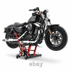 Béquille ciseaux CLR pour Harley Davidson Dyna Fat/ Street Bob/ Switchback