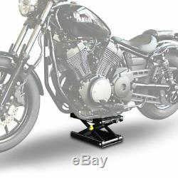 Béquille ciseaux CMB+ pour Harley CVO Road Glide/ Custom/ Ultra, Dyna Fat Bob