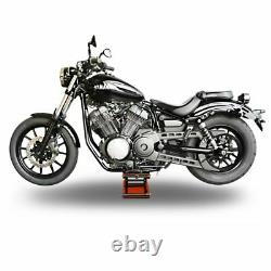 Béquille ciseaux CMO+ pour Harley Cross Bones, CVO Limited/ Street Glide