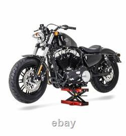 Béquille ciseaux CSR pour Harley Davidson Sportster 883 Superlow, V-Rod Muscle