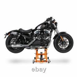 Béquille ciseaux XLO pour Harley Davidson Softail Custom/ Deluxe/ Deuce/ Fat Bob
