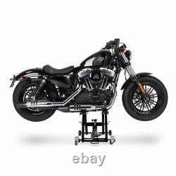 Béquille ciseaux XLS pour Harley Davidson Fat Boy/ Special, Heritage Springer