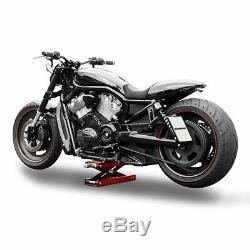 Bequille d'atelier MLR pour Harley Davidson leve moto cric hydraulique elevateur