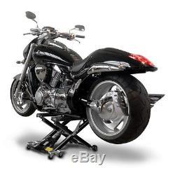 Bequille d'atelier MXS pour Harley Davidson leve moto cric hydraulique elevateur