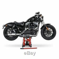 Bequille d'atelier pour Harley Davidson Electra Glide (FLHT) leve moto r. Noir