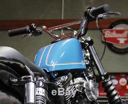 Biltwell Moto Guidon 1 chrome ou Entaille, Harley Davidson