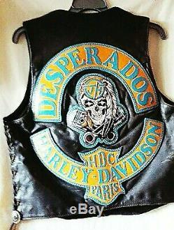 Blouson Johnny Hallyday DESPERADOS HDC Paris, biker, harley davidson, moto, jacket