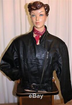 Blouson Perfecto cuir moto femme HARLEY DAVIDSON noir taille L