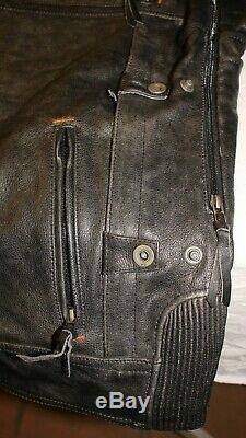 Blouson cuir HARLEY DAVIDSON NEUF noir taille L