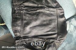 Blouson cuir harley davidson homme vintage embosse leather jacket M embossed