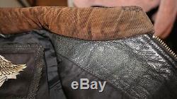 Blouson cuir moto femme HARLEY DAVIDSON cuir noir taille S