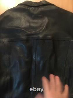 Blouson cuir sans manche harley davidson