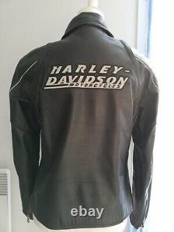 Blouson harley davidson cuir femme taille M