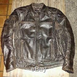 Blouson moto cuir Harley Davidson Neuf