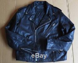 Blouson moto vintage années 70 marque Harley Davidson cuir perfecto BON Etat