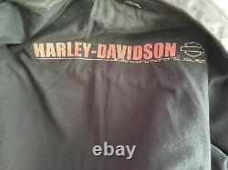 Blouson moto vintage de marque harley davidson