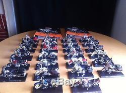 Collection De 26 Motos Miniature Harley Davidson