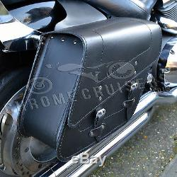 Cuir Moto Sacoches Paniers Harley-davidson Sportster XL 48 883 1200