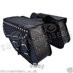 CUIR MOTO SACOCHES PANIERS HARLEY-DAVIDSON SPORTSTER XL 883 1200 48