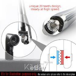Convex rétroviseur Achilles noir CNC réglable pour KTM Moto Guzzi MV Agusta