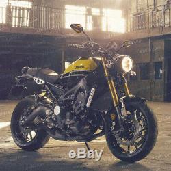 Convex rétroviseur Achilles noir + or réglable pour KTM Moto Guzzi MV Agusta