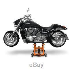 Cric Moto a Ciseaux Hydraulique pour Harley Davidson Softail Deluxe FLSTN/I oran