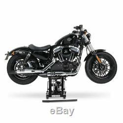 Cric Moto á Ciseaux L pour Harley-Davidson Breakout/ 114 noir Lève Hydraulique