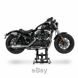 Cric Moto á Ciseaux XL pour Harley Davidson Sportster 1200 T Superlow noir Lève
